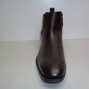 Calvin Klein DAI LEATHER Brown New Mens Boots